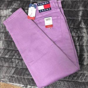 Purple Tommy Hilfiger Jeans